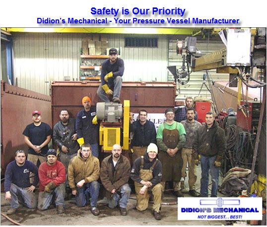 pressure vessels manufacturer