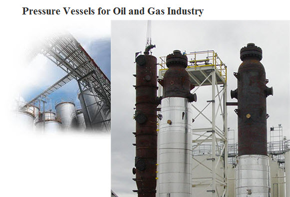 pressure vessels for oil industry